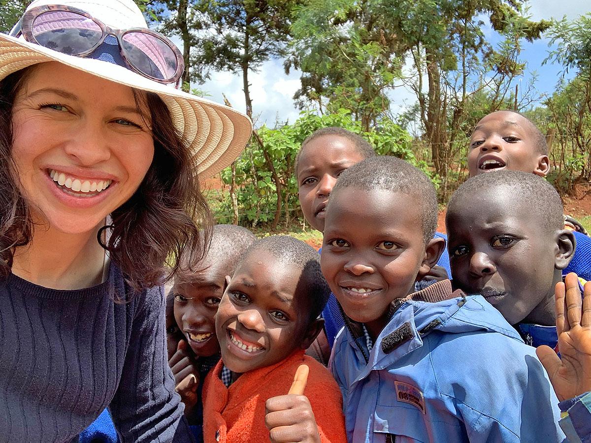 Thérèse in Kenya